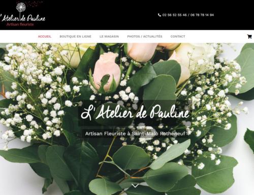 www.latelierdepauline-fleuriste.com